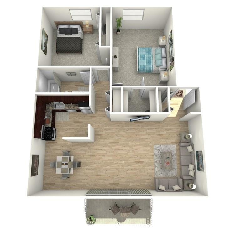 Floor plan image of The Underwood