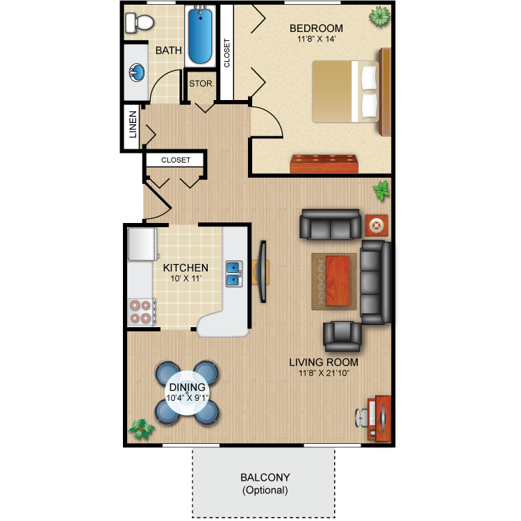 Floor plan image of The Ellison