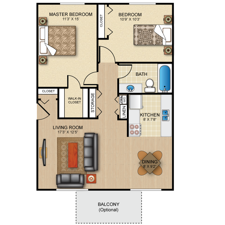 Floor plan image of The Fairmont