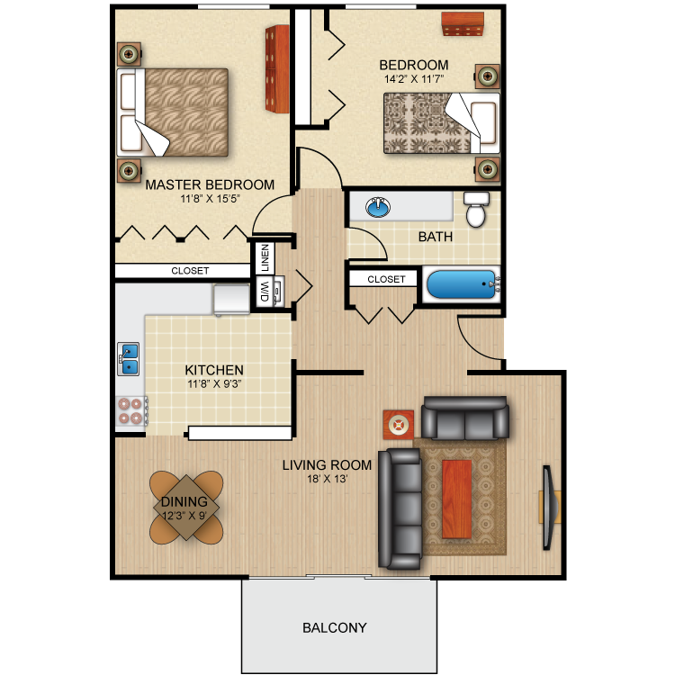 Floor plan image of The Valient