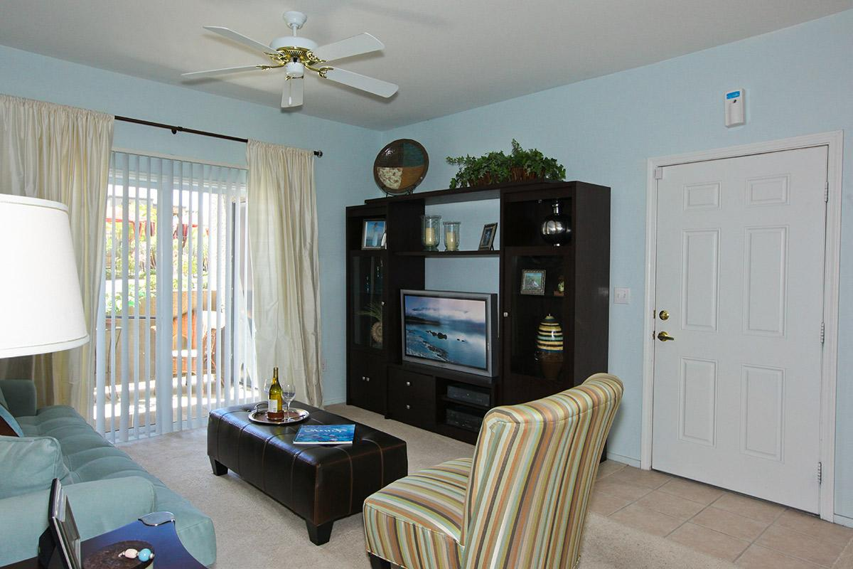Your new living room at Pinehurst Condominiums Luxury Rentals