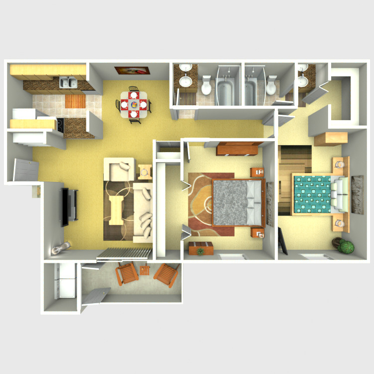 Floor plan image of E