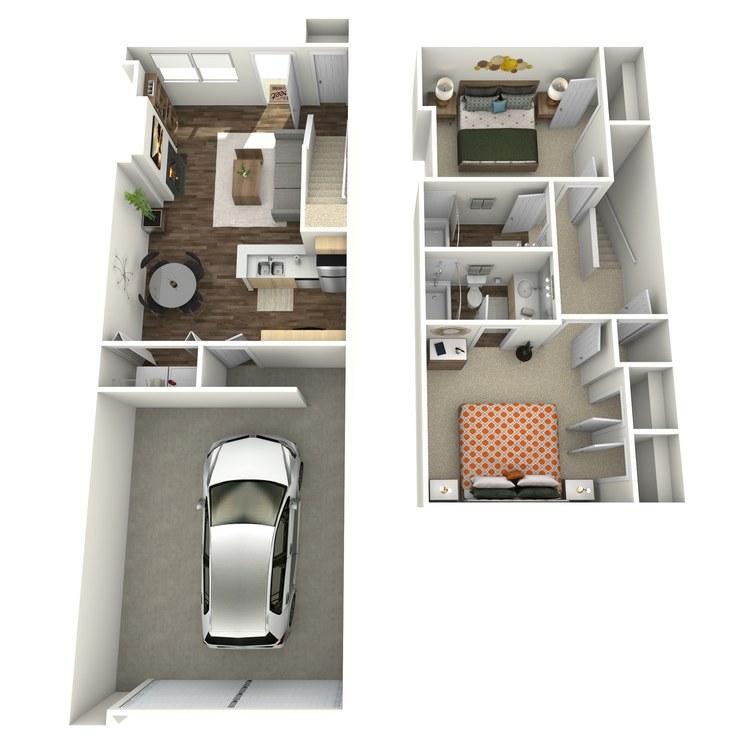 Floor plan image of B1TH