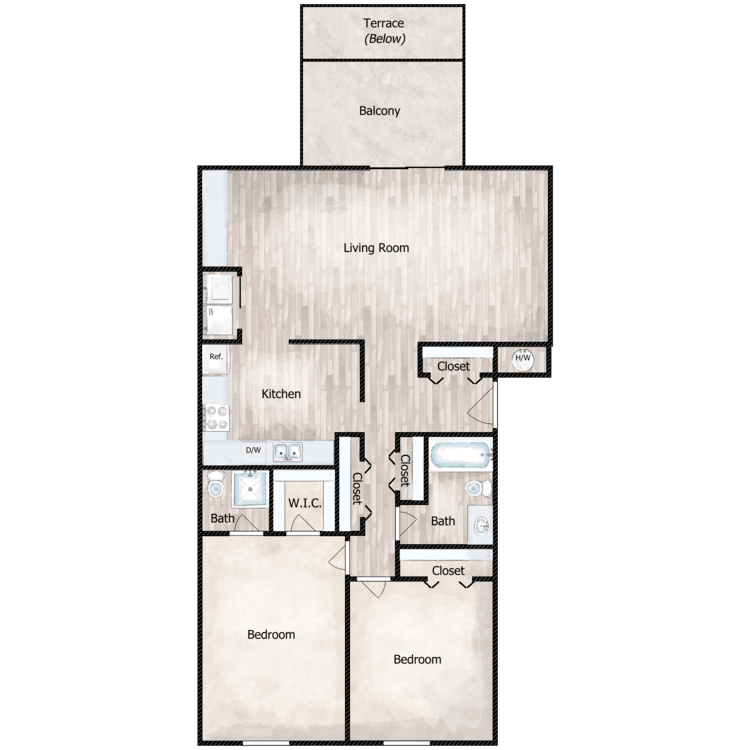Floor plan image of The Somerton