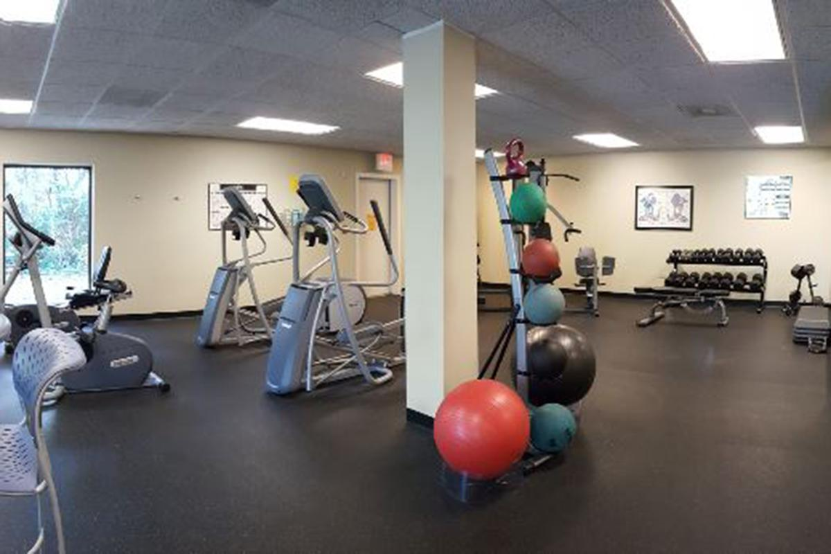 1 - Fitness Center Red Ball.JPG
