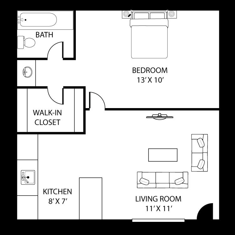 Floor plan image of Ironwood