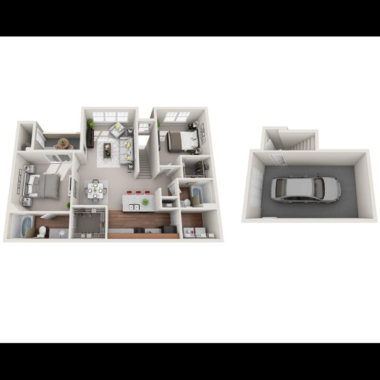Floor plan image of Amalfi