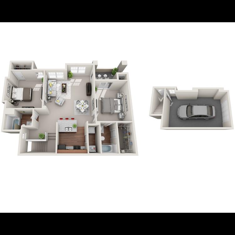 Floor plan image of Napoli