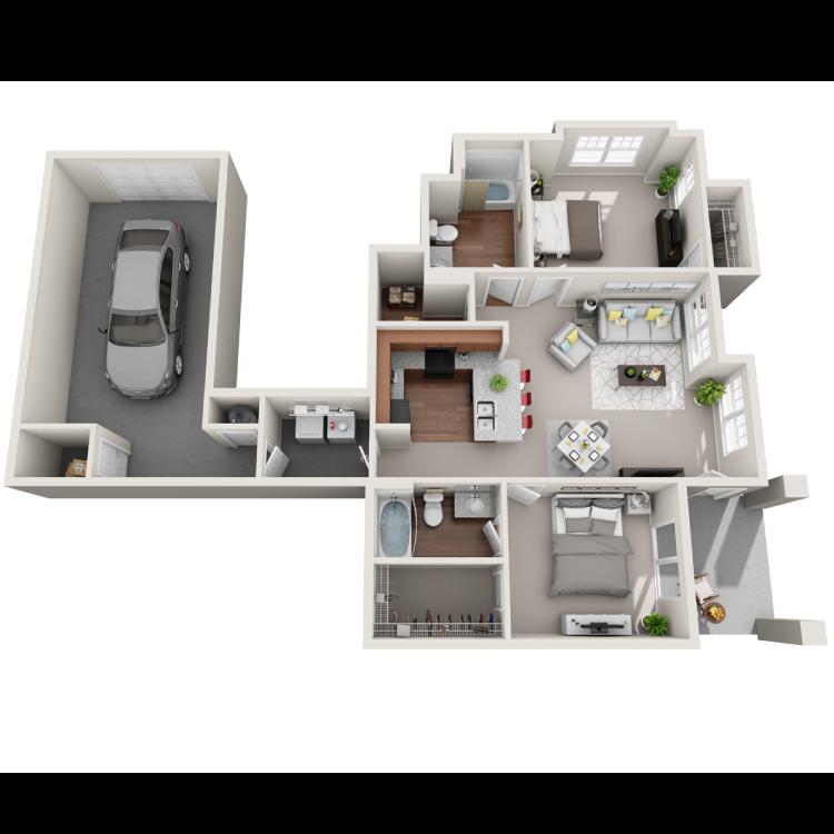 Floor plan image of Positano