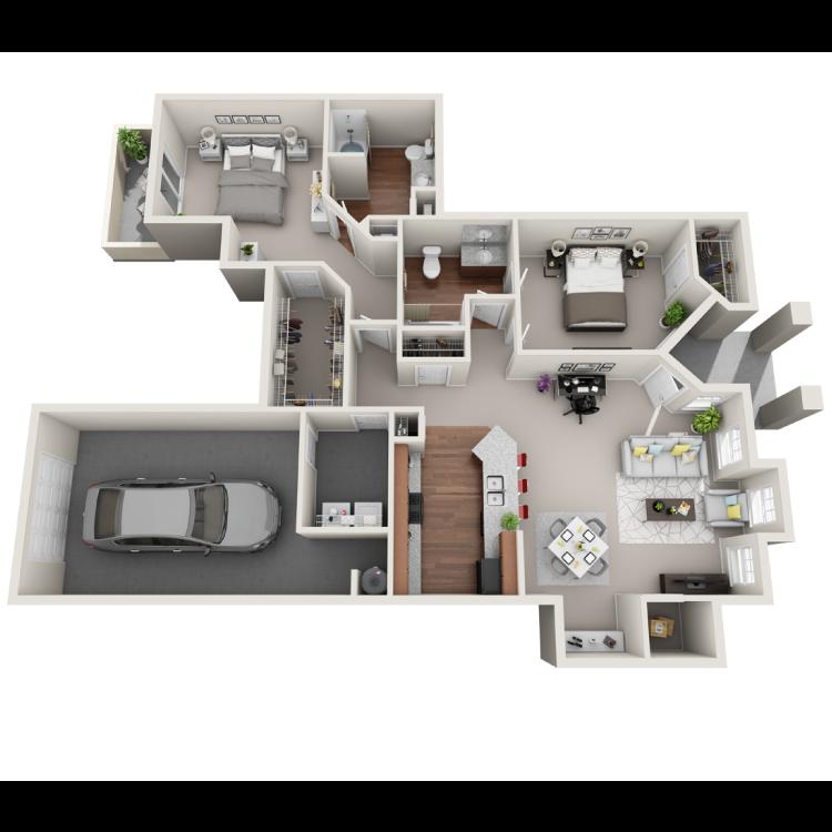 Floor plan image of Salerno