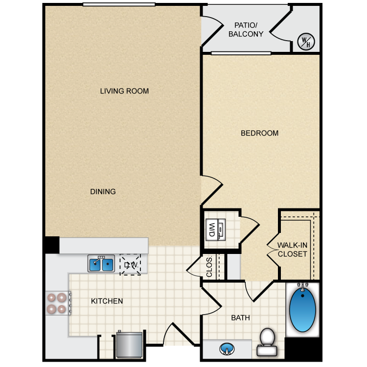 Floor plan image of 1A1