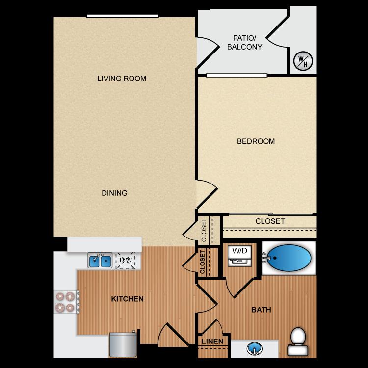 Floor plan image of 1D1