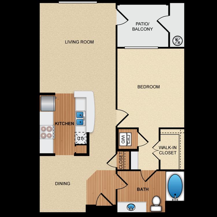 Floor plan image of 1F1