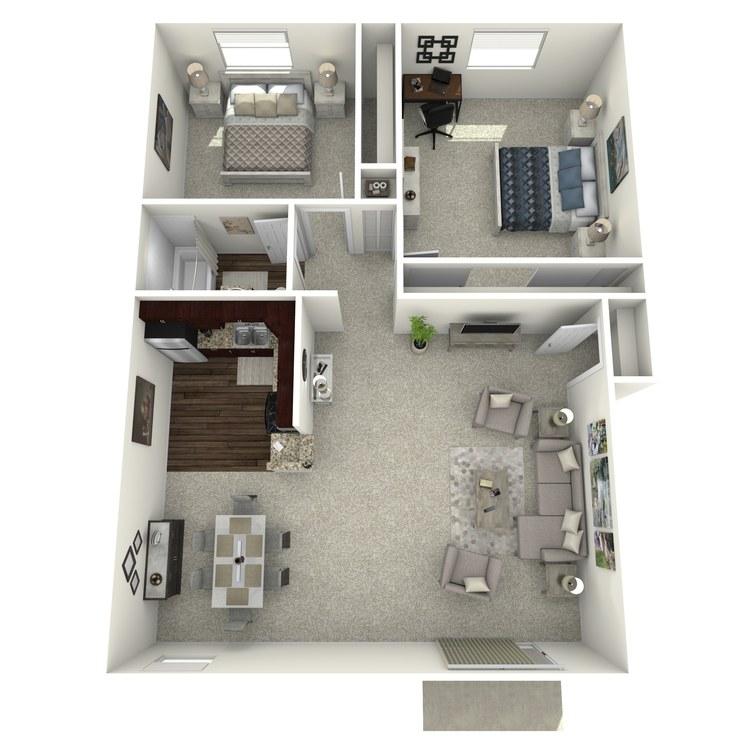 Floor plan image of Plan B