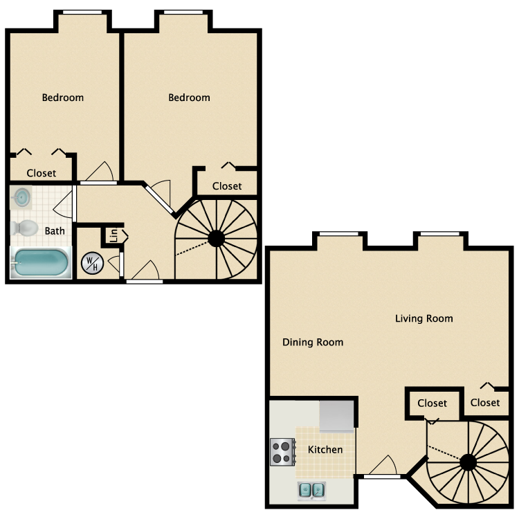 Floor plan image of The Falls