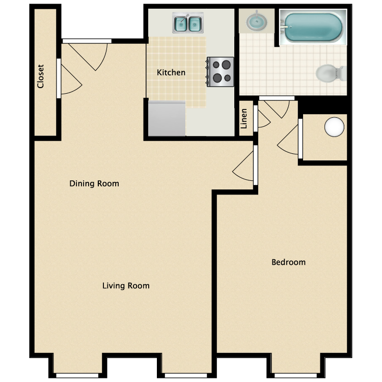 Floor plan image of The Isle