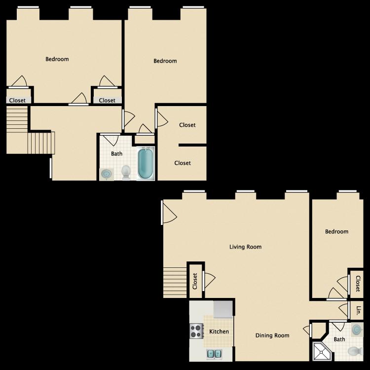 Floor plan image of The Villa