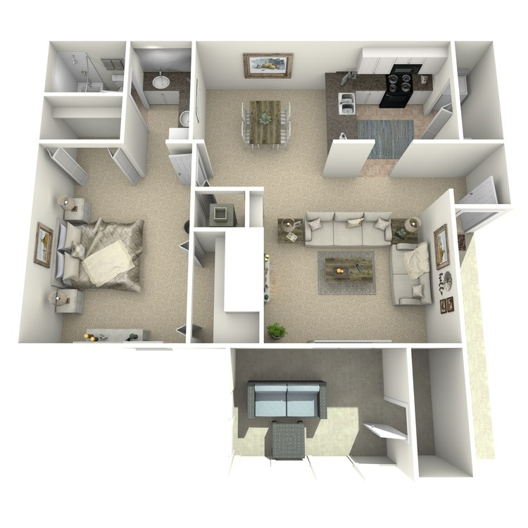 Floor plan image of The Aucilla