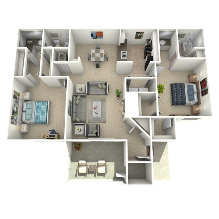 Floor plan image of The Buffalo