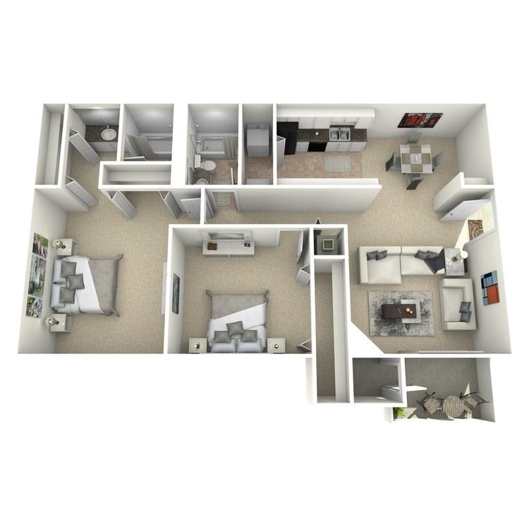 Floor plan image of The Brier