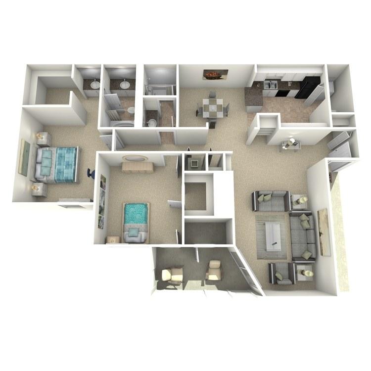 Floor plan image of The Belfast