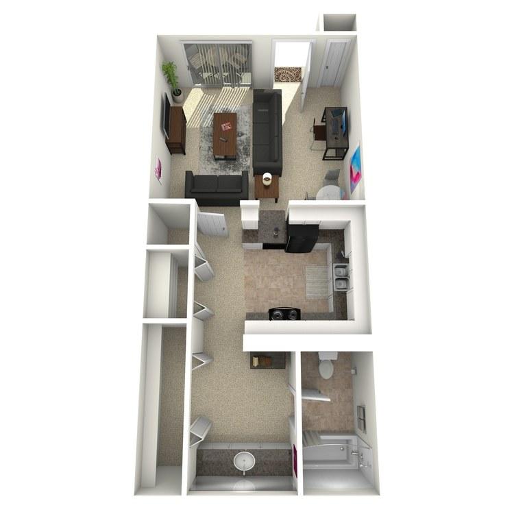 Floor plan image of The Allez