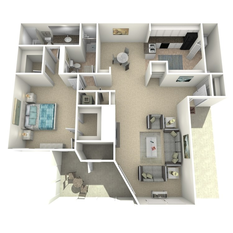 Floor plan image of The Alan