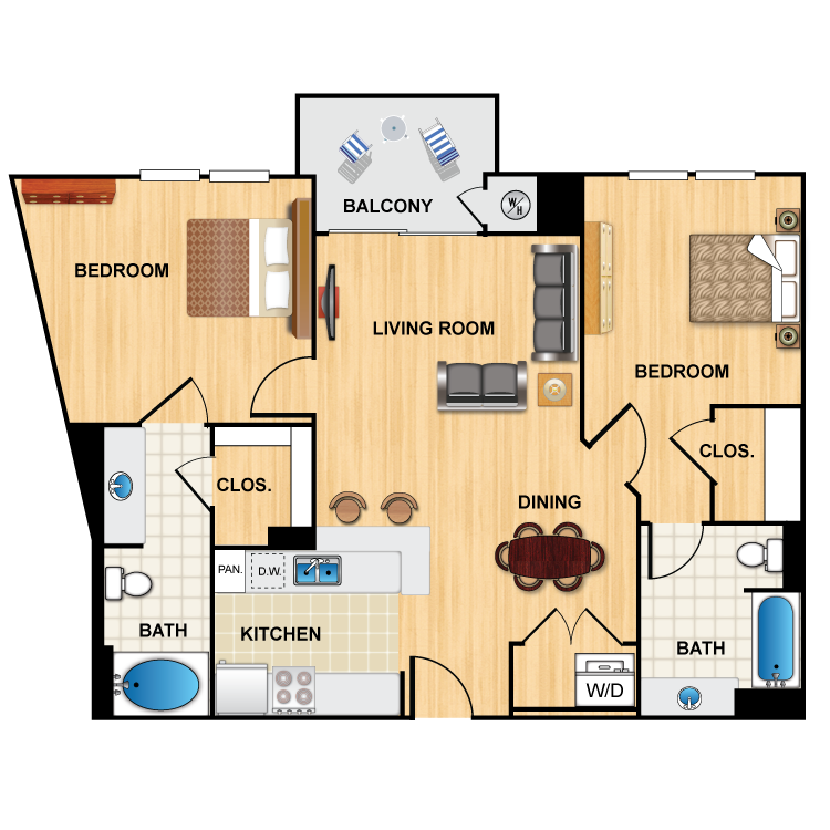 Floor plan image of M