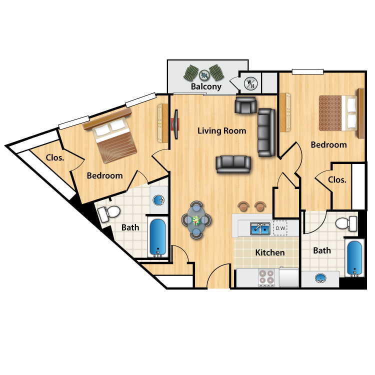 Floor plan image of L