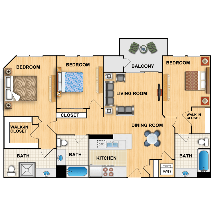 Floor plan image of N
