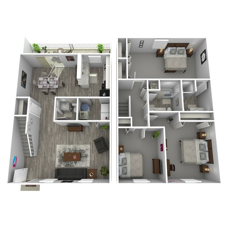 Floor plan image of The Novel
