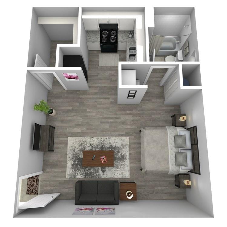 Floor plan image of Musings