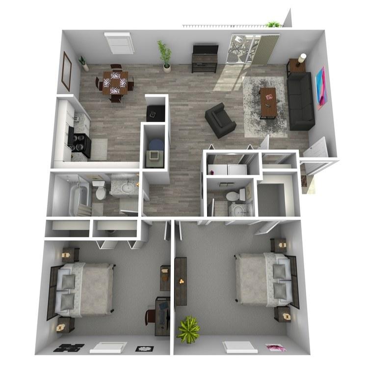 Floor plan image of Mirage