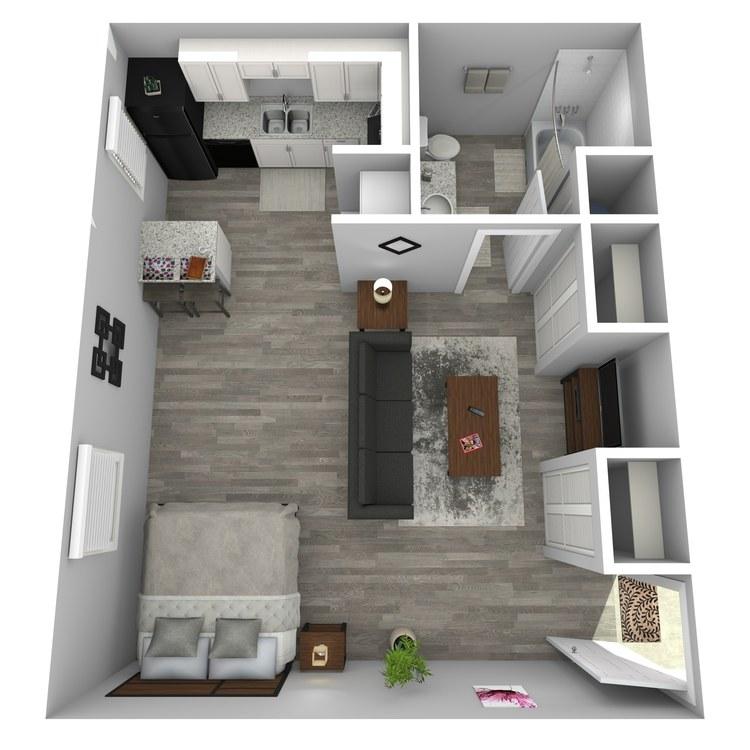 Floor plan image of Replica