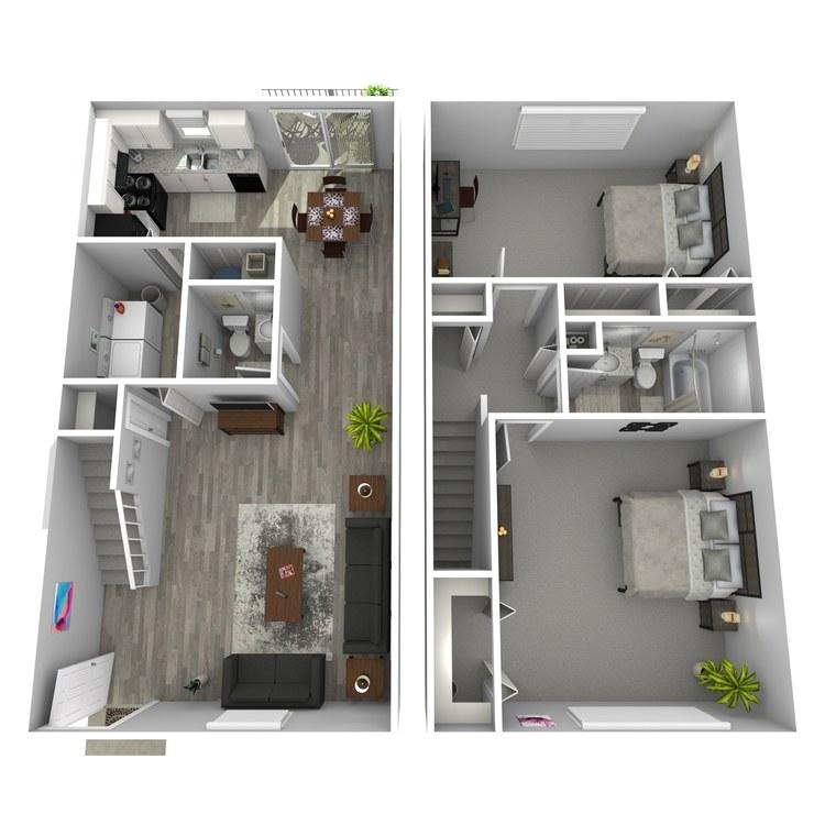 Floor plan image of Renderings II