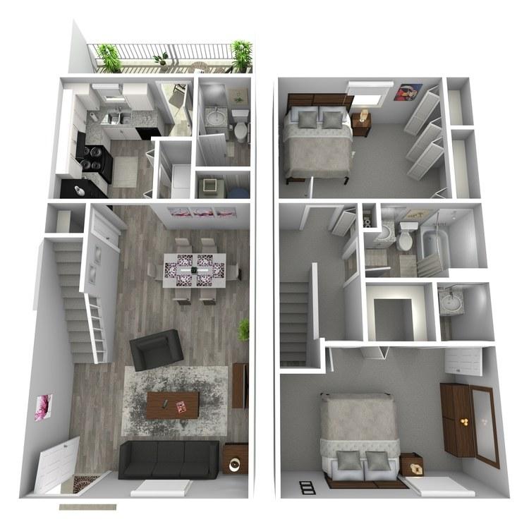 Floor plan image of Renderings I