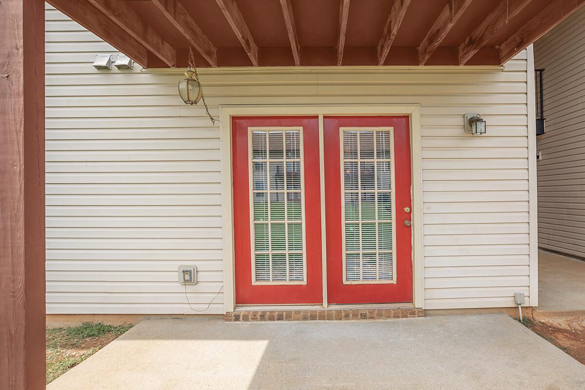 the door of a house