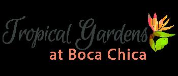 Tropical Gardens at Boca Chica Logo