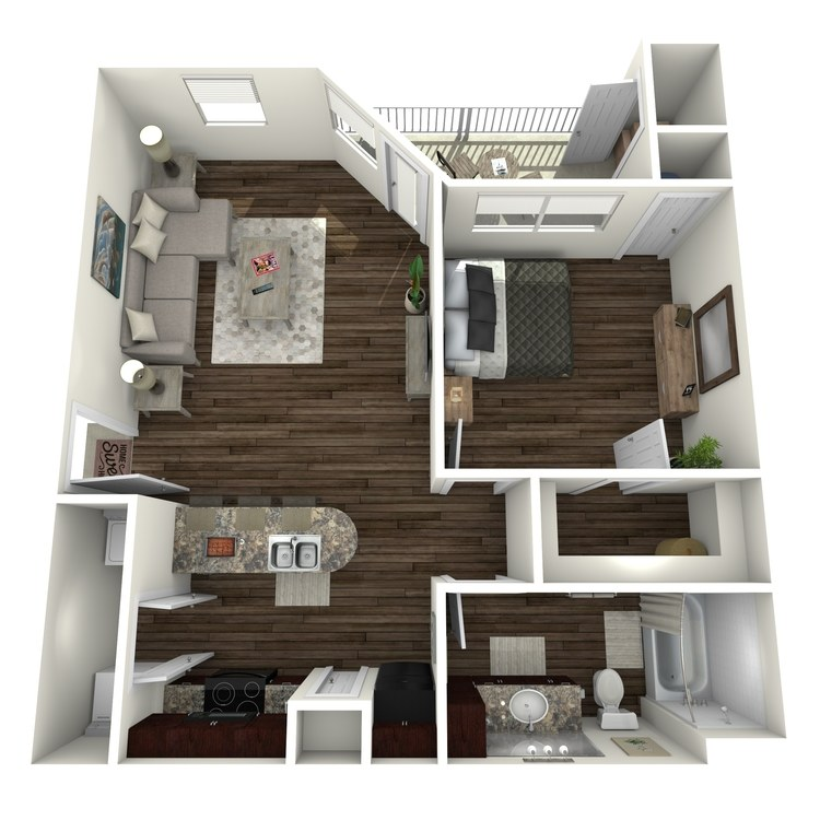 Floor plan image of Alta Vista