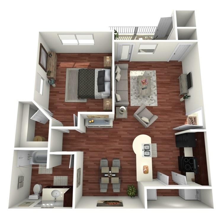Buena Vista floor plan image