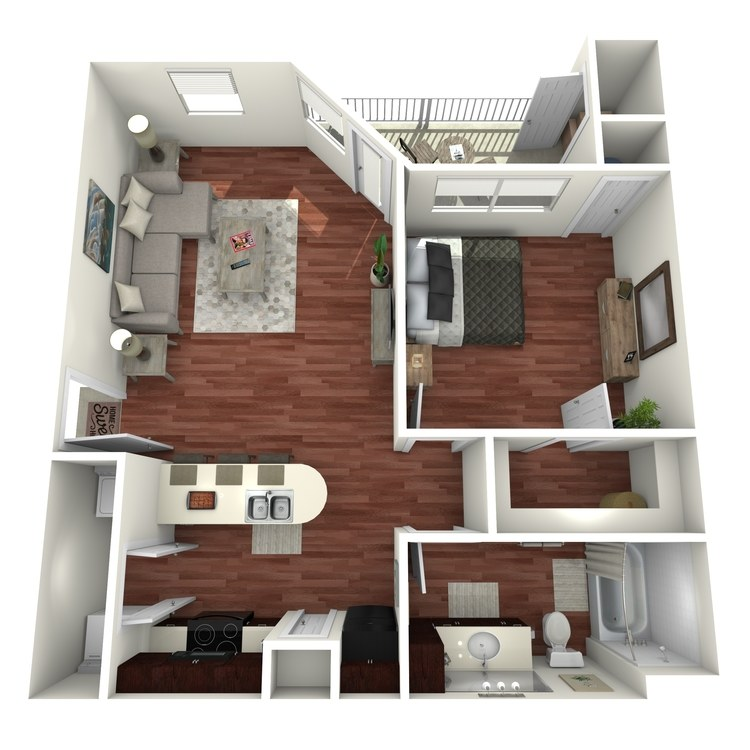 Alta Vista floor plan image