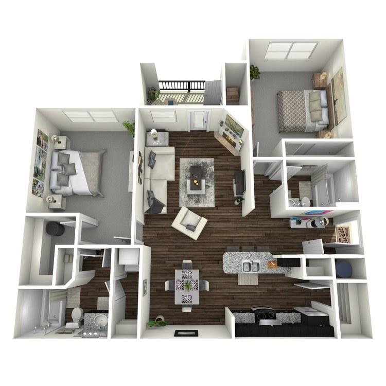 Floor plan image of Jasmine