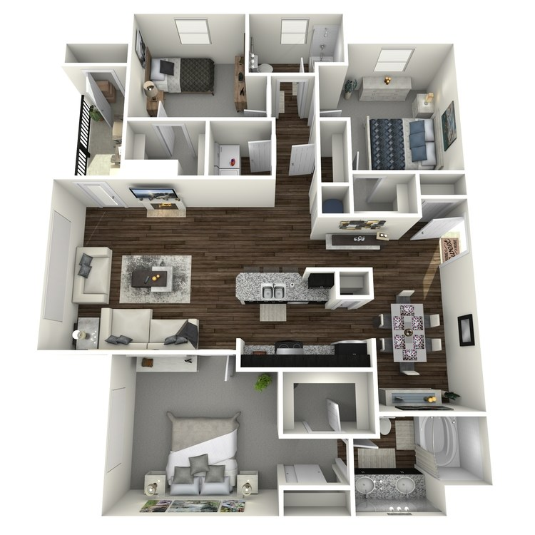 Floor plan image of Wisteria