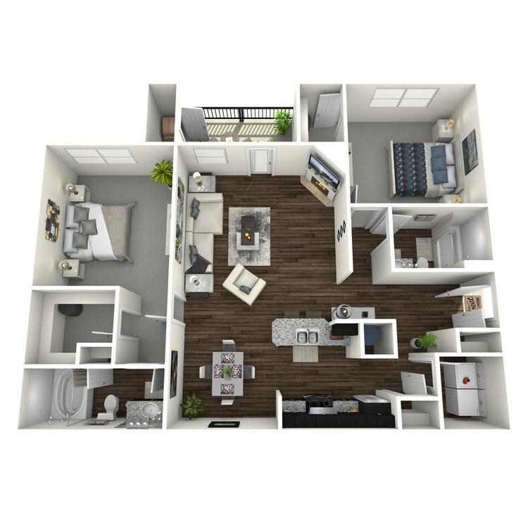 Floor plan image of Periwinkle