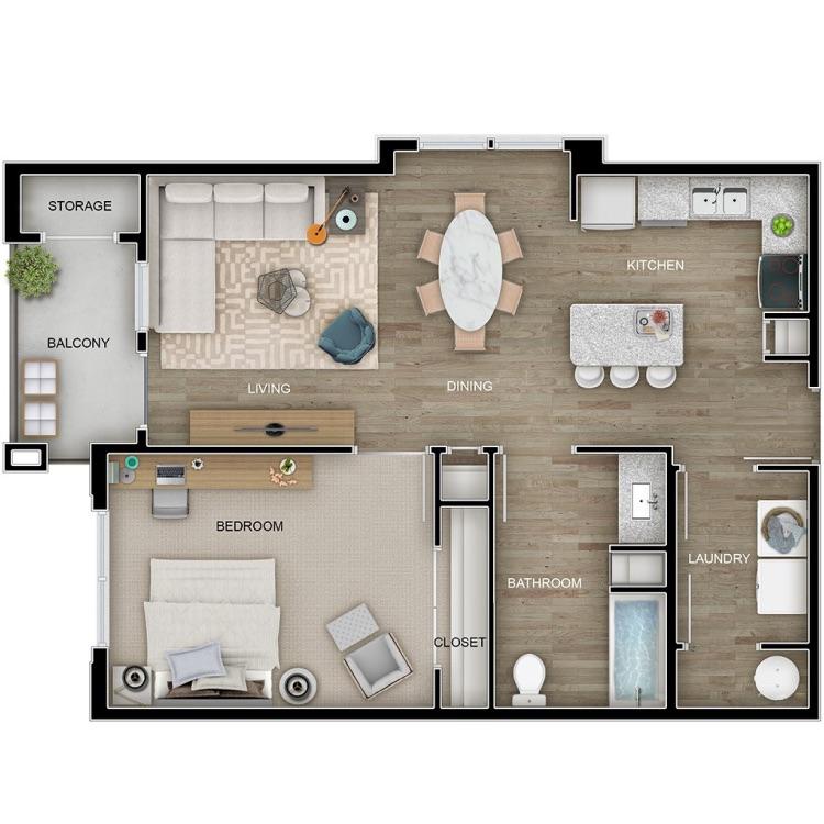 Floor plan image of The Den