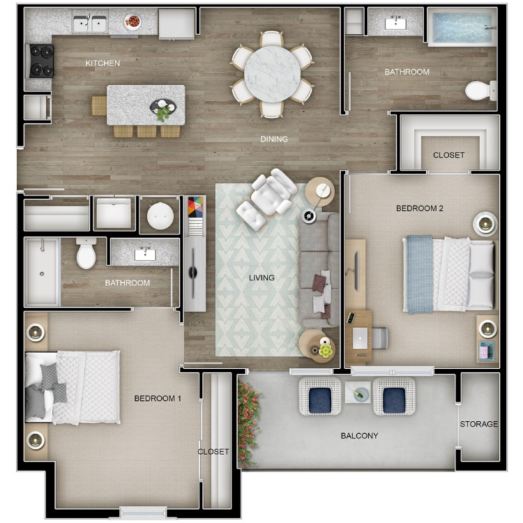 Floor plan image of The Cottage