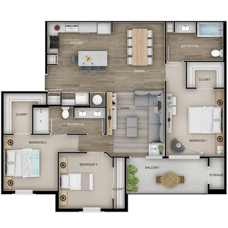 Floor plan image of The Chalet
