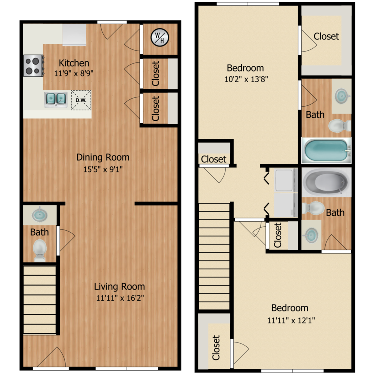 Floor plan image of Peyton