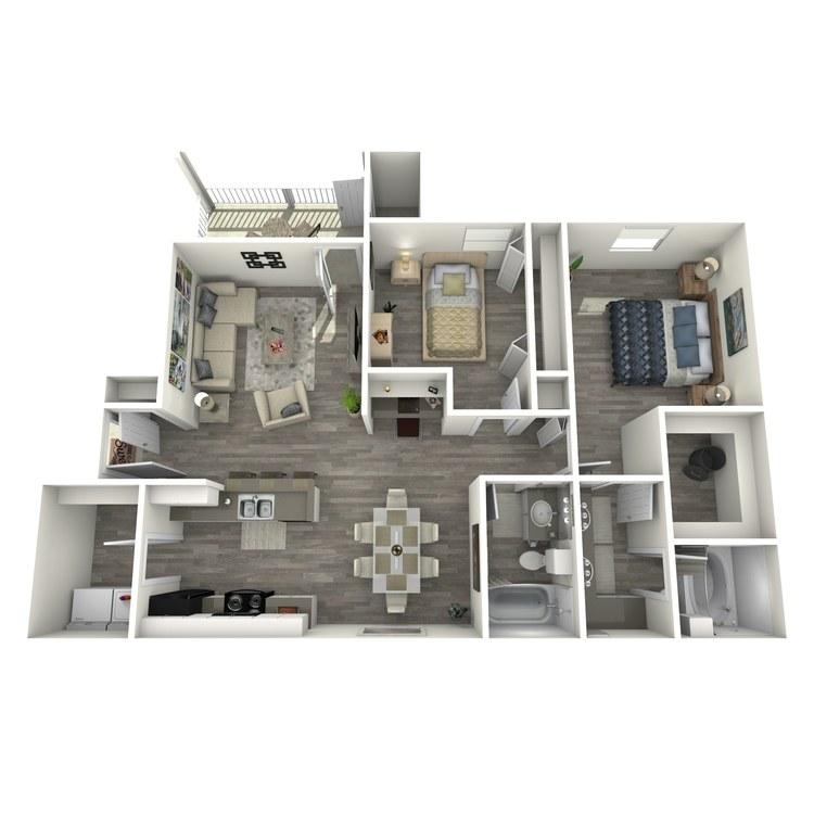 Floor plan image of B4R