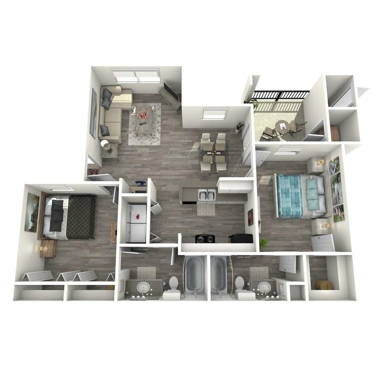 Floor plan image of B2R